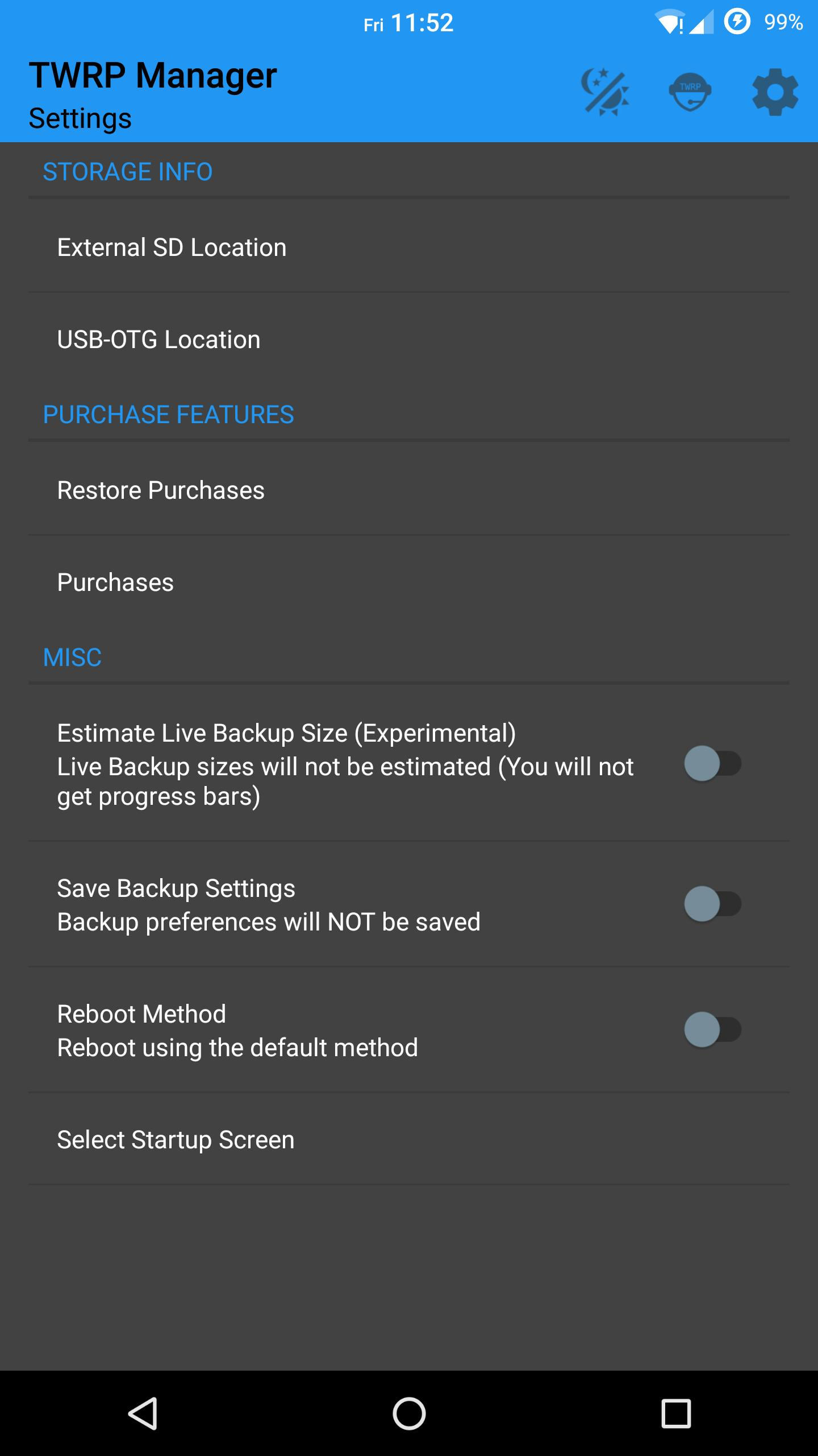 TWRP Manager for Android - APK Download
