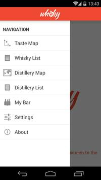 1 Schermata Whisky Map Lite
