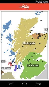 Whisky Map Lite imagem de tela 5