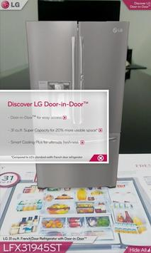 LG DOOR-IN-DOOR™ 3D AR(US, EN) poster
