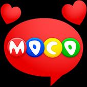 Моко - чат и с новыми людьми иконка