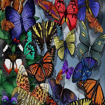 Butterfly Live Wallpaper screenshot 5