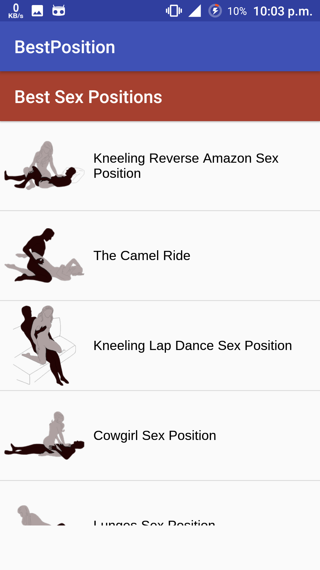 Sex positions by name