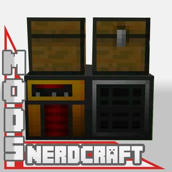 Mod NerdCraft For MCPE poster
