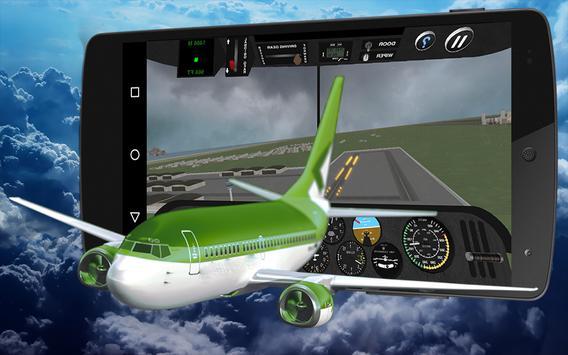 3D✈️️Pilot Airplane Flight Sim apk screenshot
