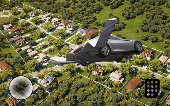 💸Real Flying 3D Car Simulator apk screenshot