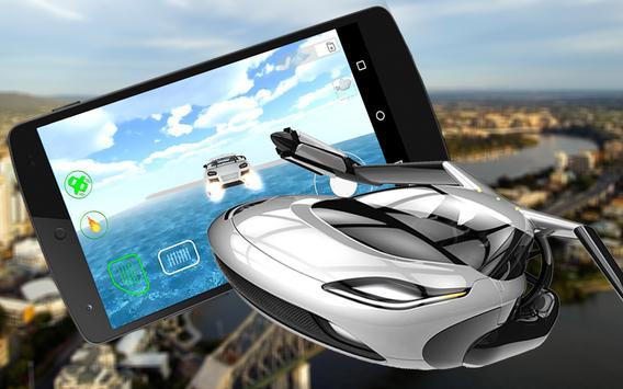 💸Real Flying 3D Car Simulator poster