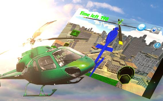 🚁City Helicopter Simulator 3D screenshot 10