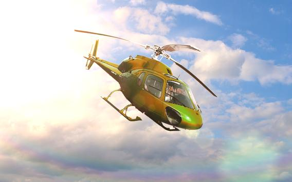 🚁City Helicopter Simulator 3D screenshot 9