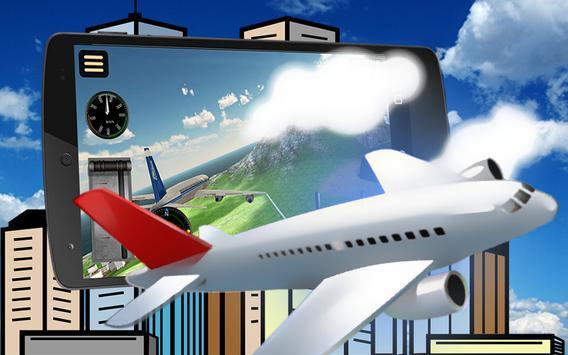 🛫Fly Airplane Flight Pilot 3D poster