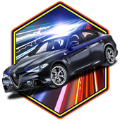 🚓Fast Police Car Racer 3D Sim icon