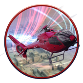 911 Police Helicopter 3D Pilot icon