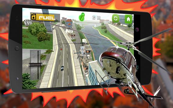 911 Police Helicopter 3D Pilot poster