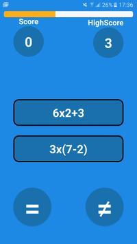 Math Comparator screenshot 1