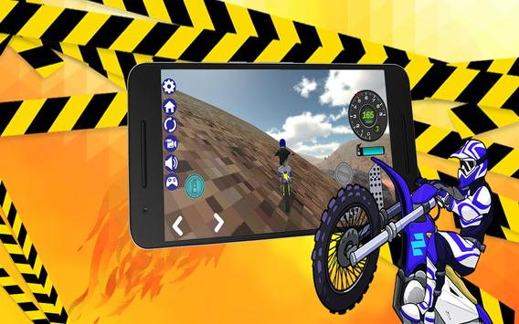 Extreme Motocross 3D Dirt Bike screenshot 1