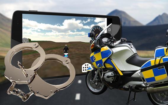🚨911 Police Motocross 3D Bike poster