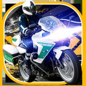 911 Police Motorbike Rider 3D icon