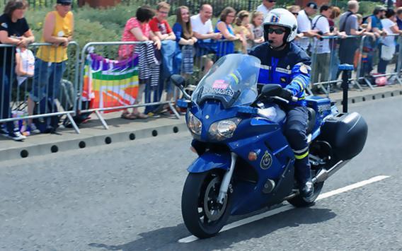 911 Police Motorbike Rider 3D screenshot 8