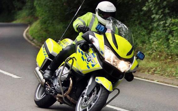 911 Police Motorbike Rider 3D screenshot 1