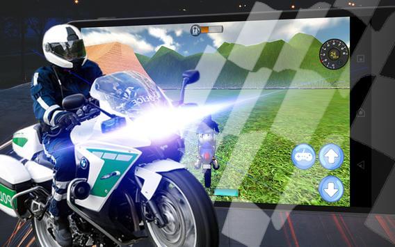 911 Police Motorbike Rider 3D screenshot 2