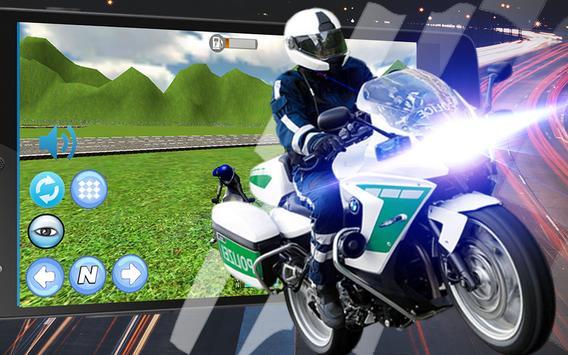 911 Police Motorbike Rider 3D screenshot 3