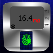 قياس السكر في الدم بالبصمة icon