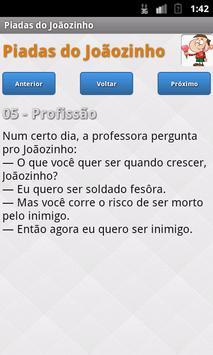 Piadas do Joãozinho apk screenshot