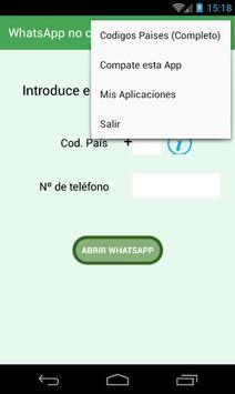 WhatsApp no contact screenshot 1