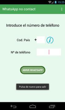 WhatsApp no contact screenshot 3