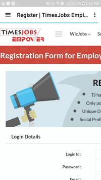 Job search:Work People(freelance,paid internship) screenshot 1