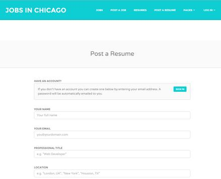 Jobs in Chicago # 1 poster