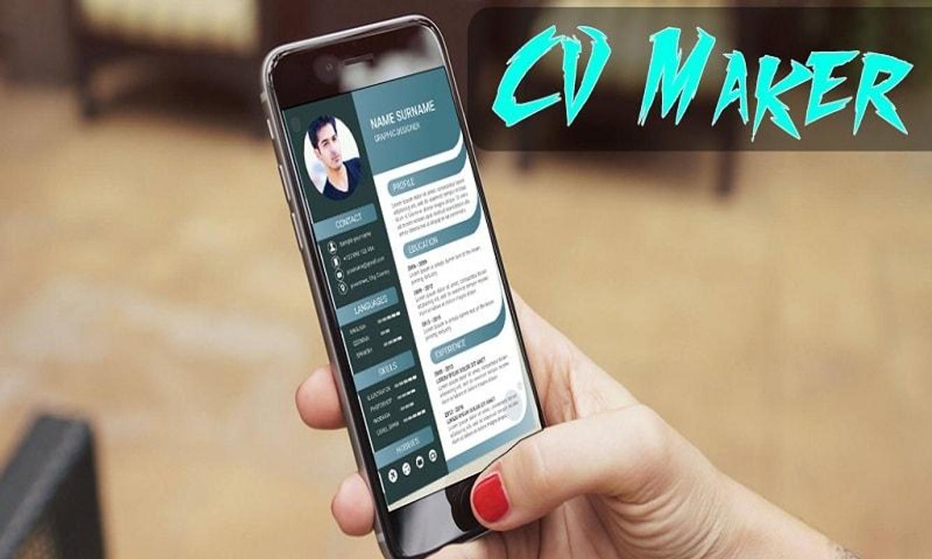 Job Cv Maker Portfolio Maker Resume Maker Apk Download Free