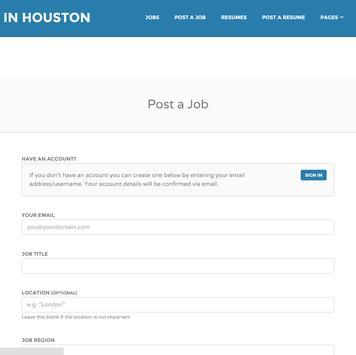 Jobs in Houston # 1 apk screenshot
