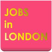 Jobs in London. UK jobsearch icon