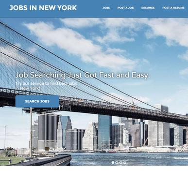 Jobs in New York # 1 poster