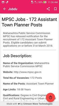 Jobdu - Government job alerts screenshot 3