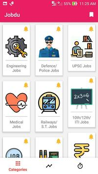Jobdu - Government job alerts poster