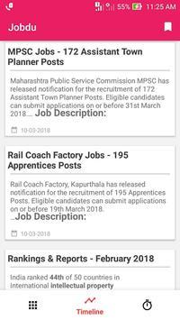 Jobdu - Government job alerts screenshot 2