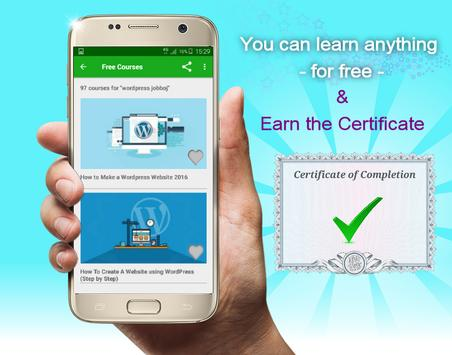 Free Online Courses from Udemy - with Certificate poster