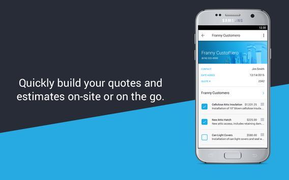 Invoice Estimate JobFLEX APK Download Free Business APP For - Estimate invoice app