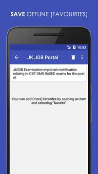 JK JOB Portal screenshot 3
