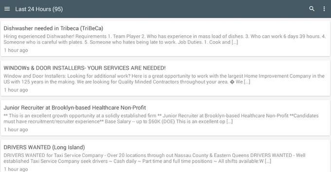 Jobs In America apk screenshot
