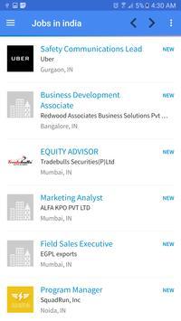 Jobs Vacancies In India apk screenshot
