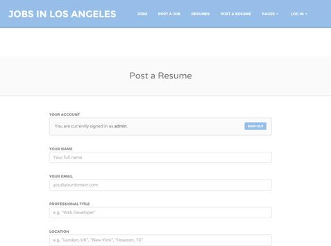 Jobs in Los Angeles # 1 apk screenshot