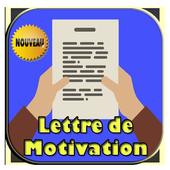 lettre de motivation pro pour emplois icon