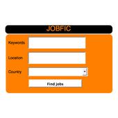 Job search.Work Search. JOBFIC icon