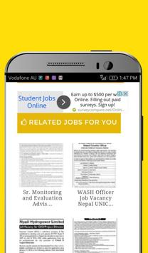 Jobs Nepal-Jobs in Nepal poster
