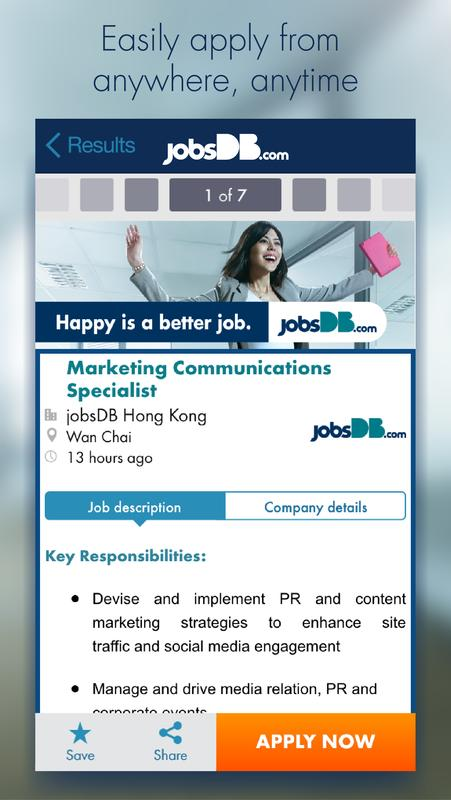 jobsdb search apk free business app for