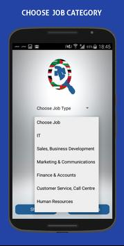 Middle East Jobs poster