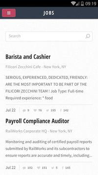 Job Search poster